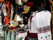 Traditionell ukrainsk skjorta Royaltyfri Fotografi