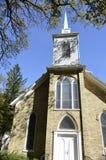 Traditionell utformad kyrka Royaltyfri Foto