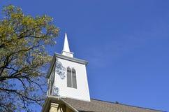 Traditionell utformad kyrka Arkivbild