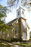 Traditionell utformad kyrka Arkivfoton