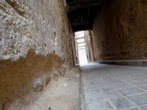 Traditionell väg Fes Arkivbild
