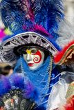 Traditionell venetian karnevalmaskering Royaltyfri Foto