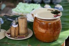 traditionell vietnames för mat Arkivfoton