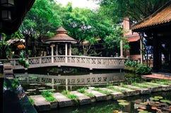 Traditionell vietnamesisk restaurang Arkivbilder