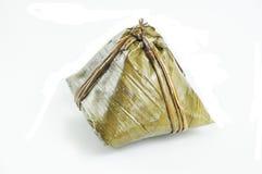 traditionell zongzi för kinesisk puddingrice royaltyfri bild