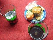 Traditionella Balinesekaffe och kakor Fotografering för Bildbyråer
