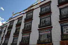 traditionella byggnader Arkivfoto