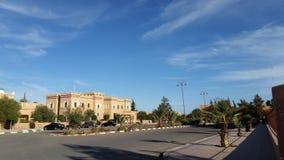 Traditionella byggnader, ouarzazatestad, Marocko fotografering för bildbyråer