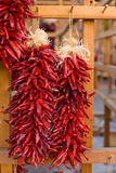 traditionella chiligarneringar southwest Royaltyfria Bilder