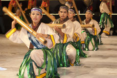 traditionella dansare Arkivbilder