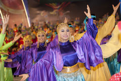 traditionella dansare Royaltyfria Foton