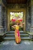 Traditionella en Kecak danser Royaltyfria Foton