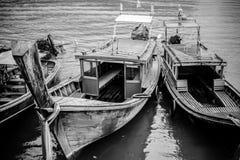 Traditionella fartyg. Arkivbild