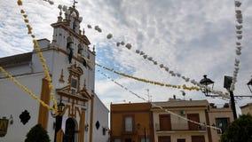 Traditionella festivaler i Spanien arkivbilder