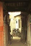 Traditionella gamla hus för Peking Arkivbilder