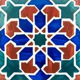 traditionella glasade portugisiska tegelplattor Arkivbilder