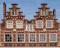 Traditionella holländska byggnader Royaltyfria Foton