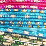 Traditionella indiska armringar Royaltyfri Foto
