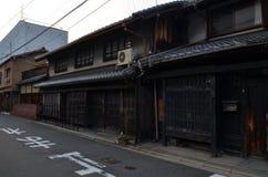 Traditionella japanhus Fotografering för Bildbyråer