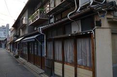 Traditionella japanhus Arkivfoton