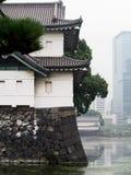 Traditionella japanska byggande Tokyo Japan Arkivbild