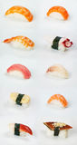 traditionella japanska sushi Fotografering för Bildbyråer