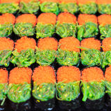 traditionella japanska sushi för mat Arkivfoton