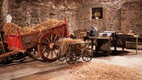 Traditionella jordbruks- verktyg Royaltyfri Fotografi