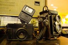 Traditionella kameror Fotografering för Bildbyråer
