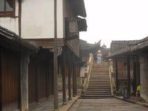 Traditionella kinesiska byggnader arkivfoto