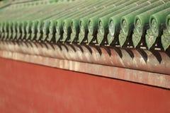 traditionella kinesiska eaves för arkitektur Arkivfoton