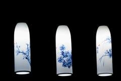 traditionella kinesiska lampor Arkivbild