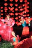 Traditionella kinesiska lyktor arkivbilder