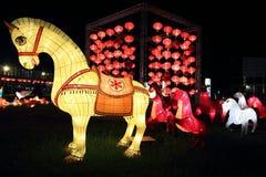 Traditionella kinesiska lyktor royaltyfri foto