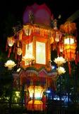 traditionella kinesiska lyktor arkivbild