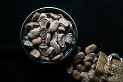 Traditionella kryddade bönor royaltyfri bild
