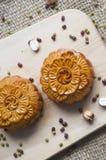 Traditionella månekakor Royaltyfri Fotografi