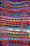 Traditionella mattor, La Paz, Bolivia Arkivfoto