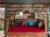 Traditionella och antika Joglo Arkivbild