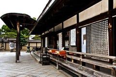 Toji tempel i Kyoto, Japan Arkivfoto