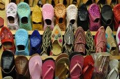 traditionella orientaliska skor Arkivfoton