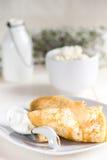 traditionella pannkakor Arkivbilder