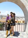 Traditionella peruanska kläder Royaltyfri Foto