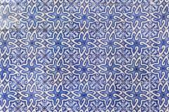 Traditionella portugisiska azulejotegelplattor på byggnaden i Porto, P Arkivfoto