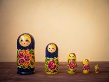 traditionella rysssouvenir Arkivbilder
