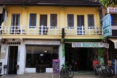 Traditionella Shoplot i Cambodja Royaltyfri Foto