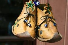 Traditionella skor Fotografering för Bildbyråer