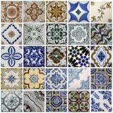 Traditionella tegelplattor från Porto, Portugal Royaltyfri Bild