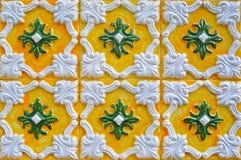 Traditionella tegelplattor från Portugal Arkivfoton