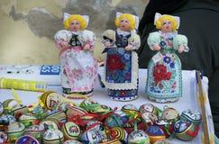 Traditionella tjeckiska dockor Royaltyfri Bild